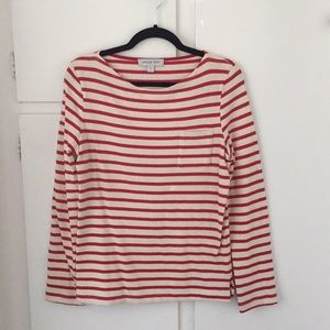 Amour Vert Red and White L/S